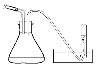 Apparatus for investigation of an enzyme-controlled reaction